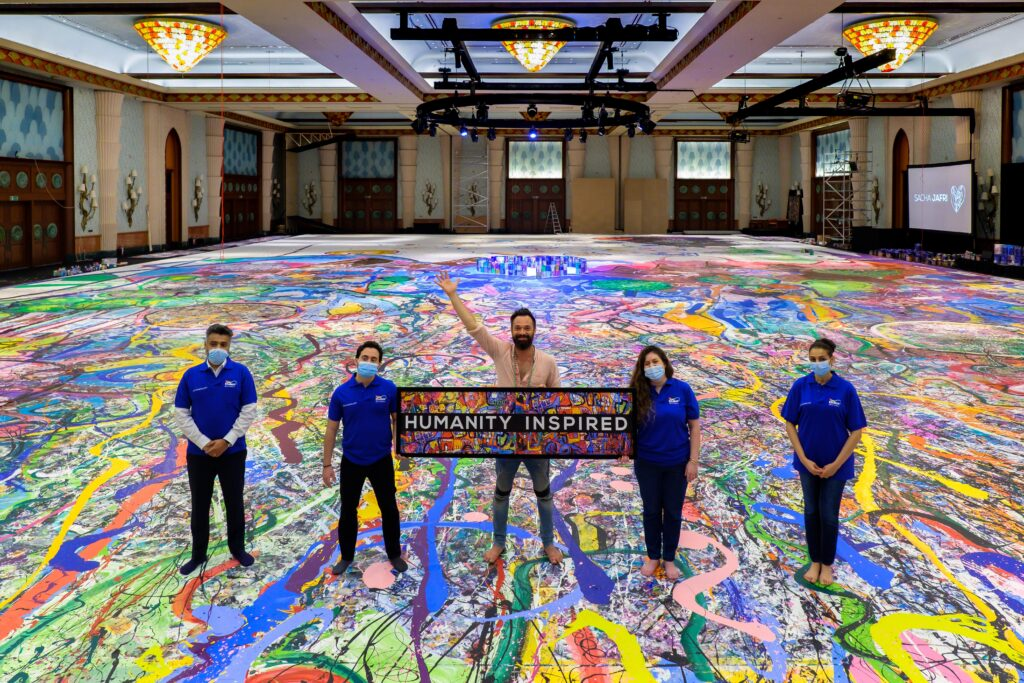 AkzoNobel Supports Artist Sacha Jafri in His Record-Breaking Project