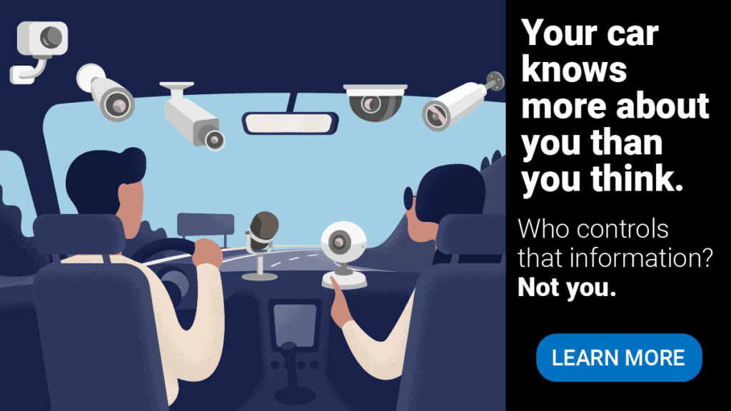 It's Your Car – It Should Be Your Data!